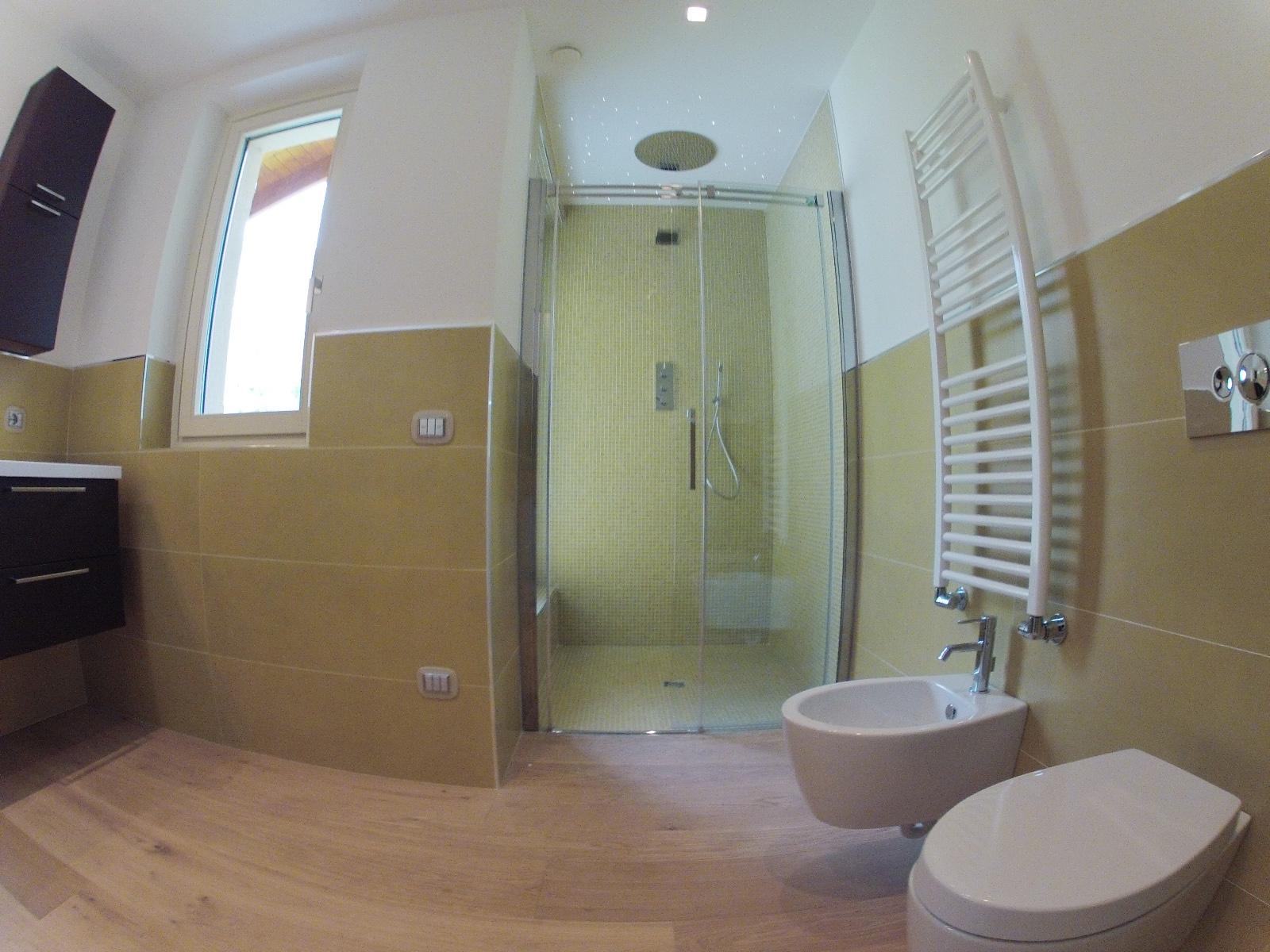 Works sintesibagno progetto e realizzazione arredobagno for Bagno con doccia