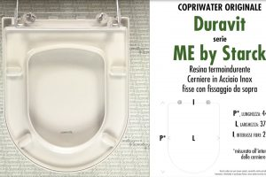 Copriwater per vaso ME BY STARCK / DURAVIT. Tipo ORIGINALE